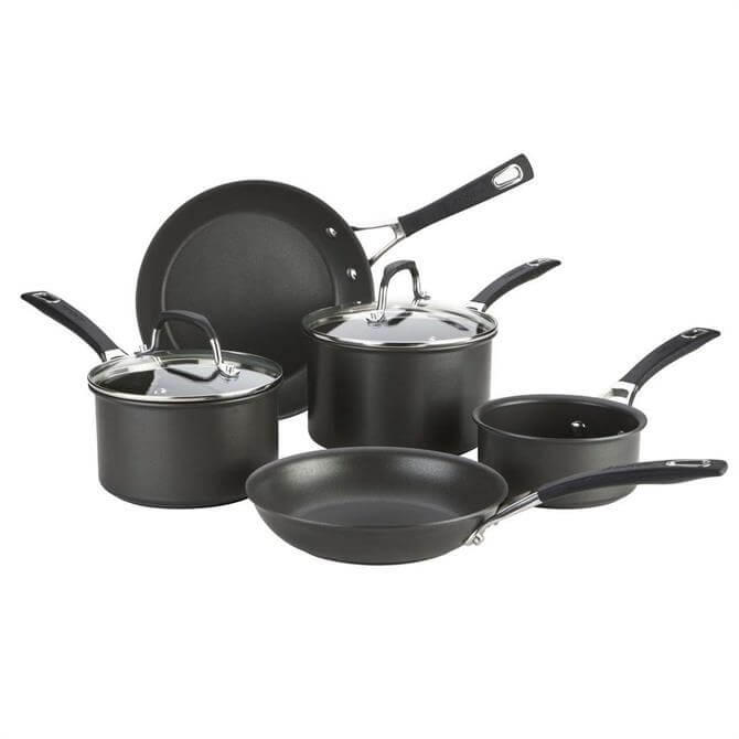 Anolon Synchrony Hard Anodised Pan Set: 5 Piece