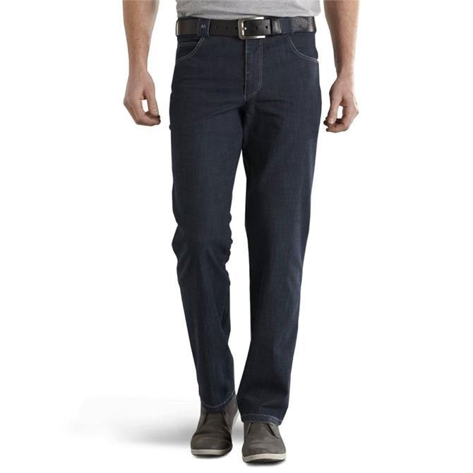 Meyer Diego Blue-Black Regular Fit Jean