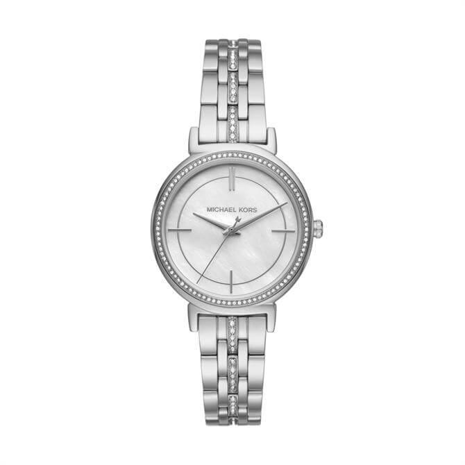 Michael Kors Cinthia Stainless Steel Three Hand Watch