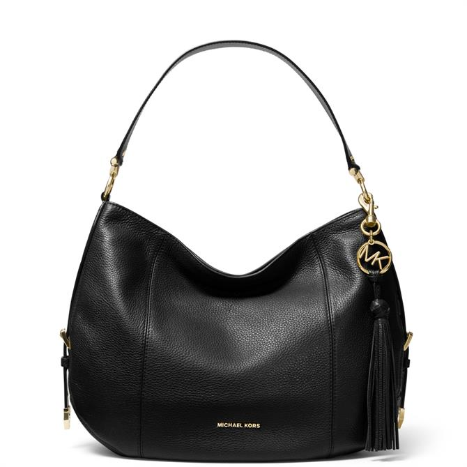 Michael Michael Kors Brooke Large Pebbled Leather Shoulder Bag