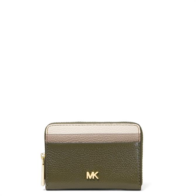 Michael Michael Kors Small Tri Colour Pebbled Leather Wallet