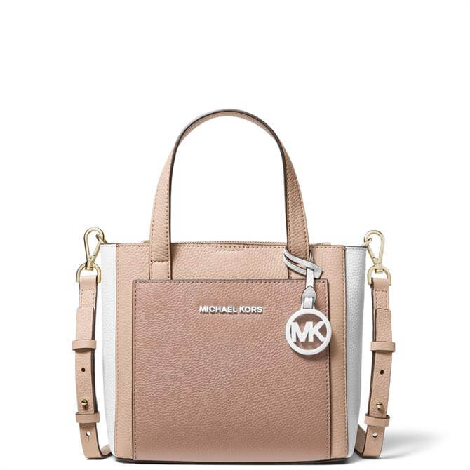 Michael Michael Kors Gemma Small Tri-Colour Pebbled Leather Crossbody Bag