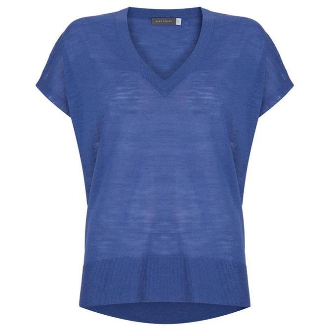 Mint Velvet Azure V-Neck Knit Top