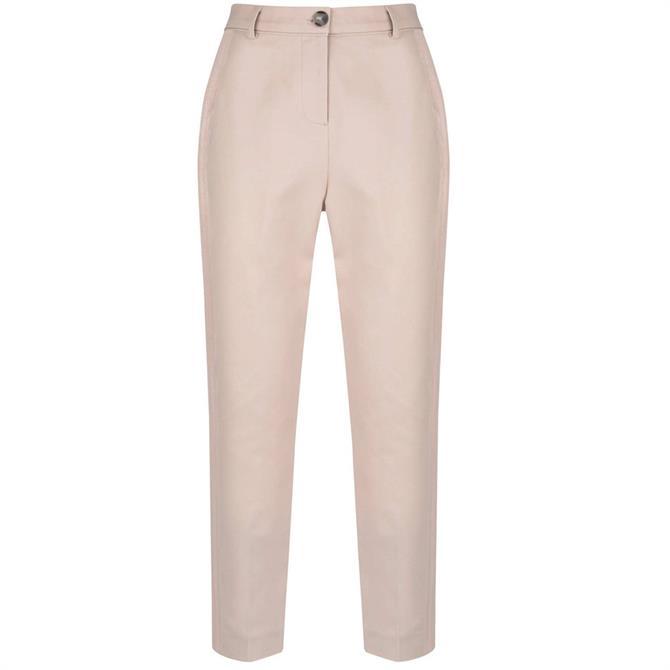 Mint Velvet Blush Side Stripe Capri Trousers
