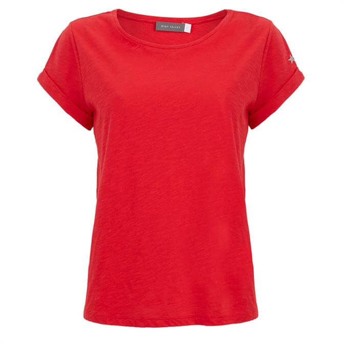 Mint Velvet Chilli Cotton Star T-Shirt