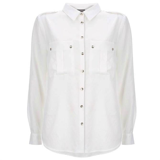 Mint Velvet Ivory Utility Shirt