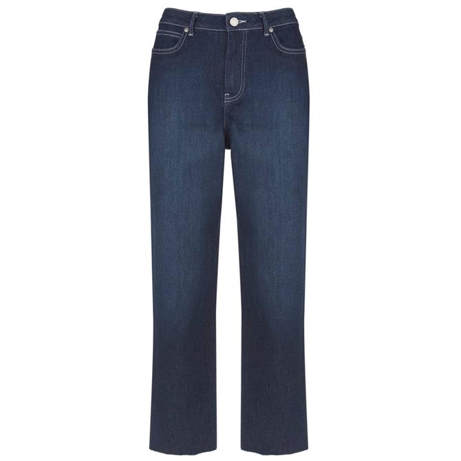 Mint Velvet Meribel Indigo Raw Hem Jean
