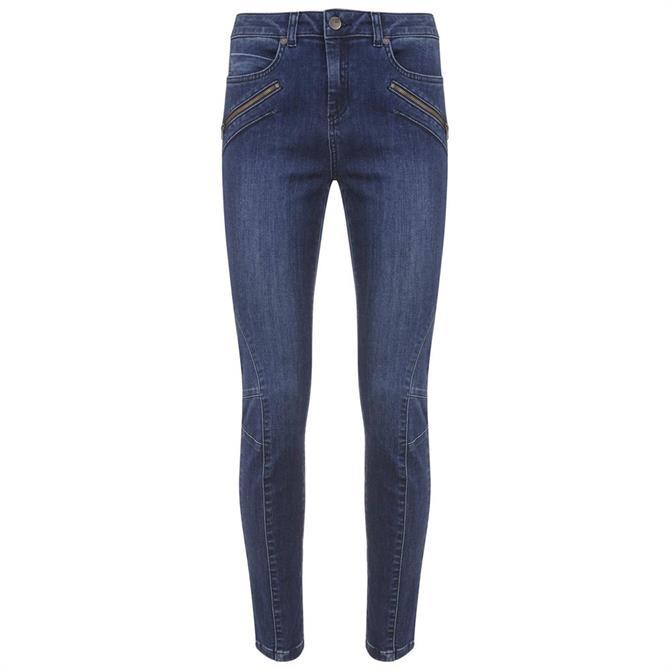 Mint Velvet Darby Authentic Indigo Skinny Jean