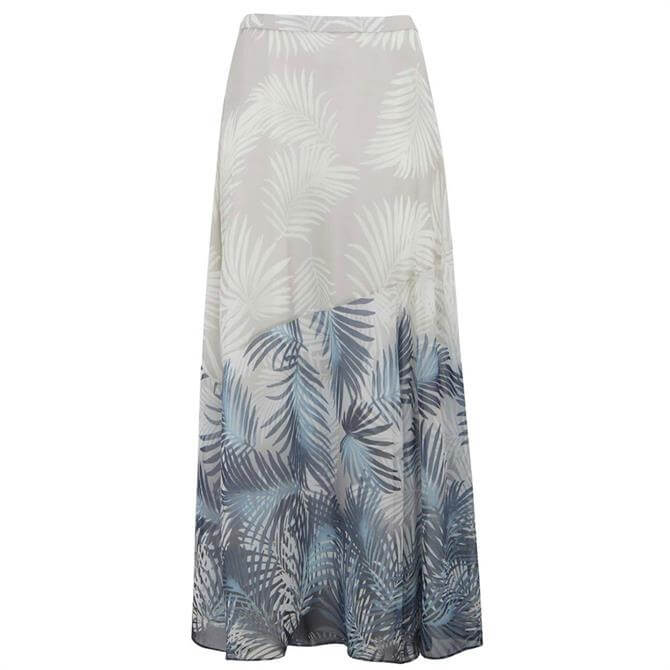 Mint Velvet Pepper Print Maxi Skirt