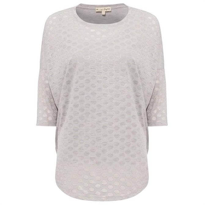 Phase Eight Shawn Spot Top Grey