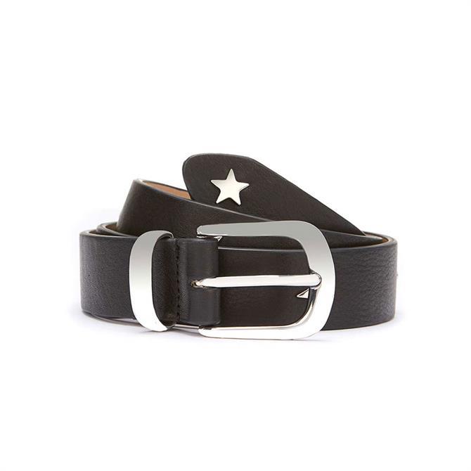 Mint Velvet Star Studded Belt