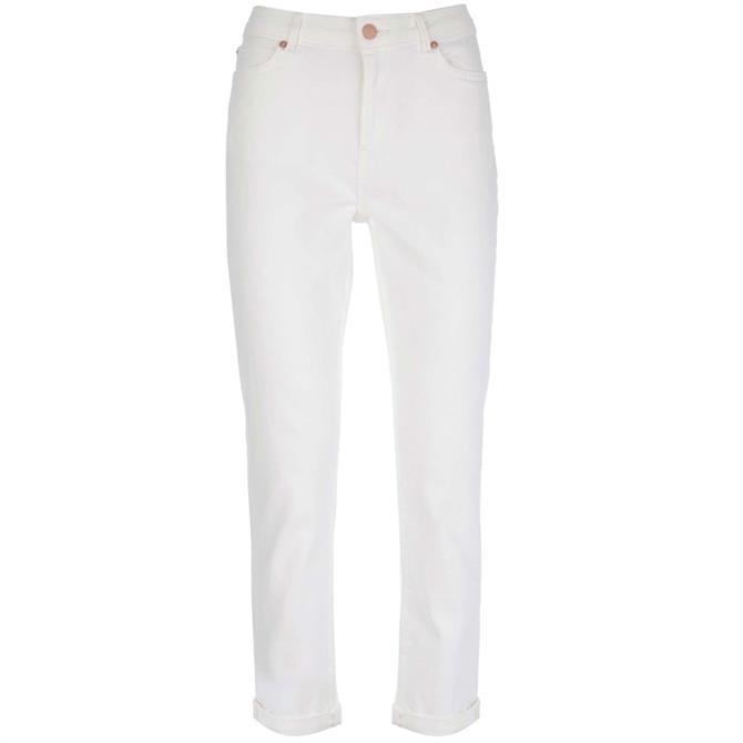 Mint Velvet White Houston Slim Jean