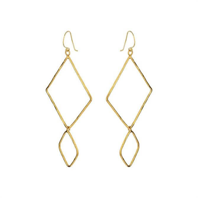 Mirabelle Double Losange Earrings