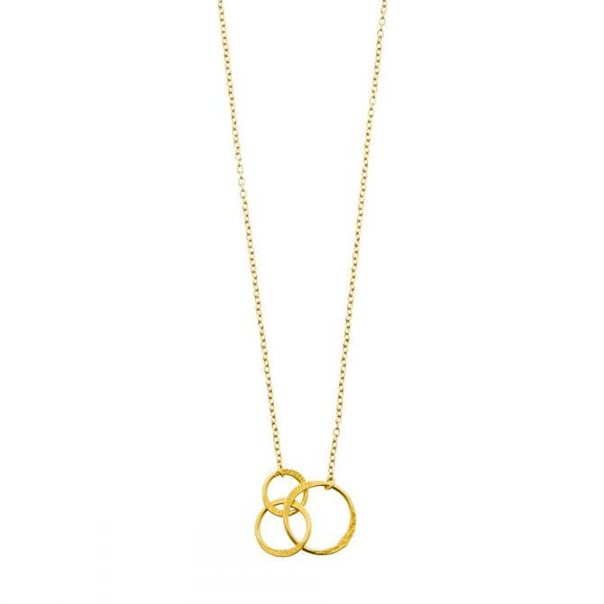Mirabelle Lolita Gold Plated Short Pendant Necklace
