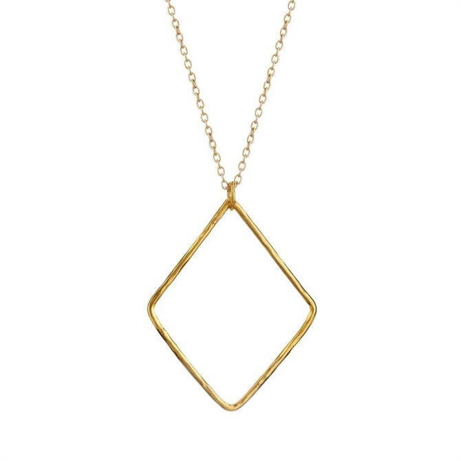 Mirabelle Large Losange Pendant Necklace