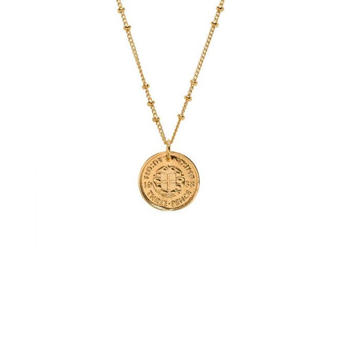 Mirabelle Penny Charm Coin Necklace