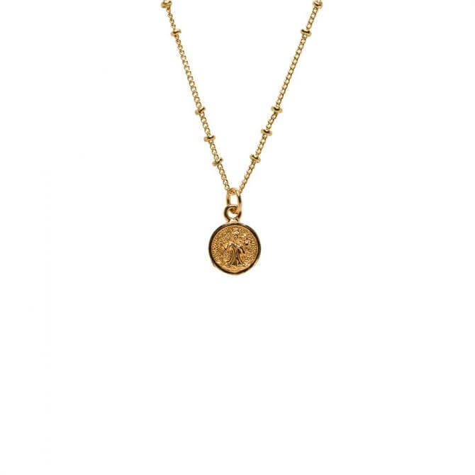 Mirabelle St Christopher Medal Necklace