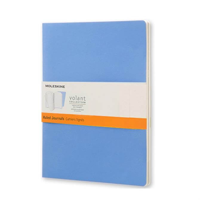 Moleskine Ruled Volant Journal Large - Set of 2