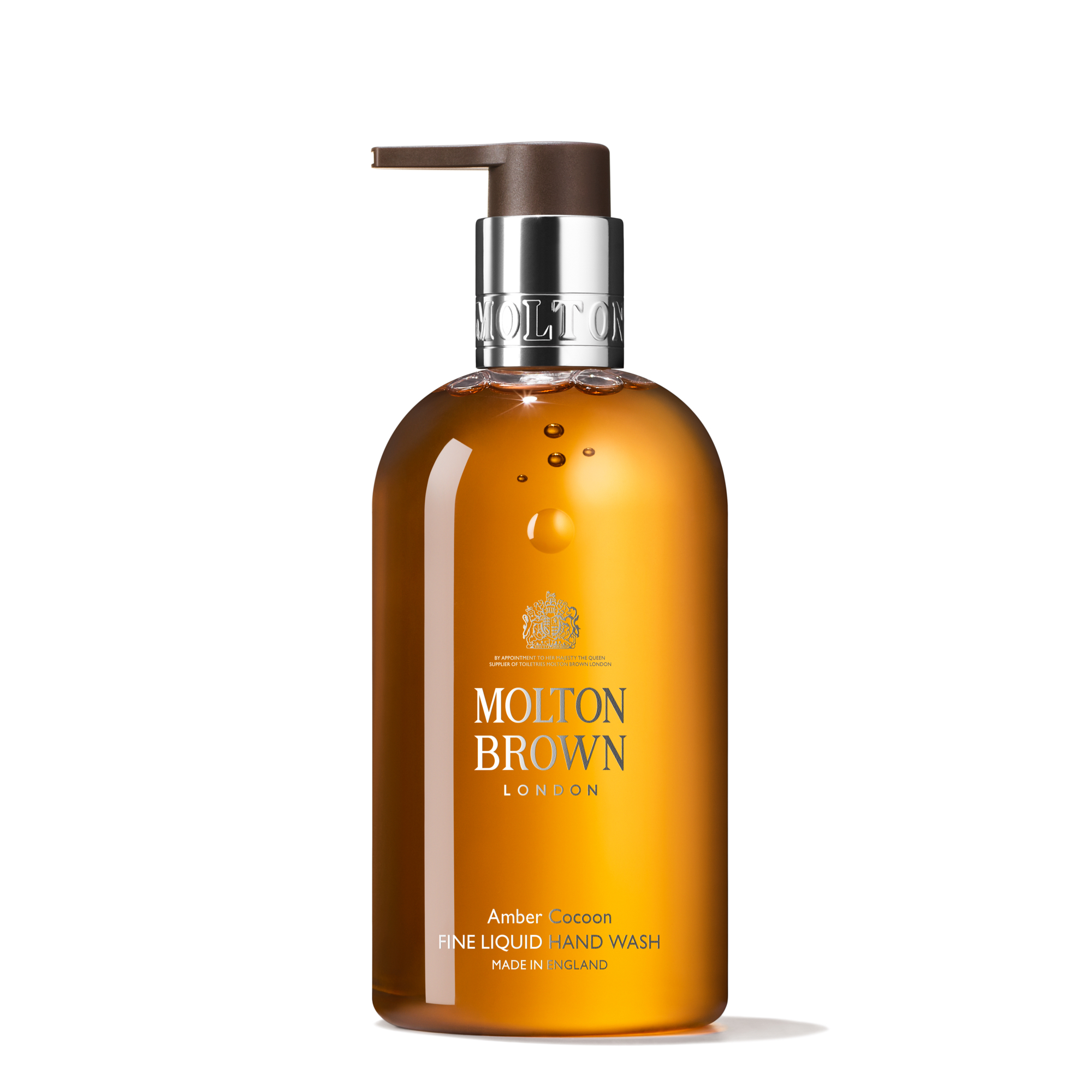 An image of Molton Brown Amber Cocoon Fine Liquid Hand Wash 300ml - AMBER COCOON