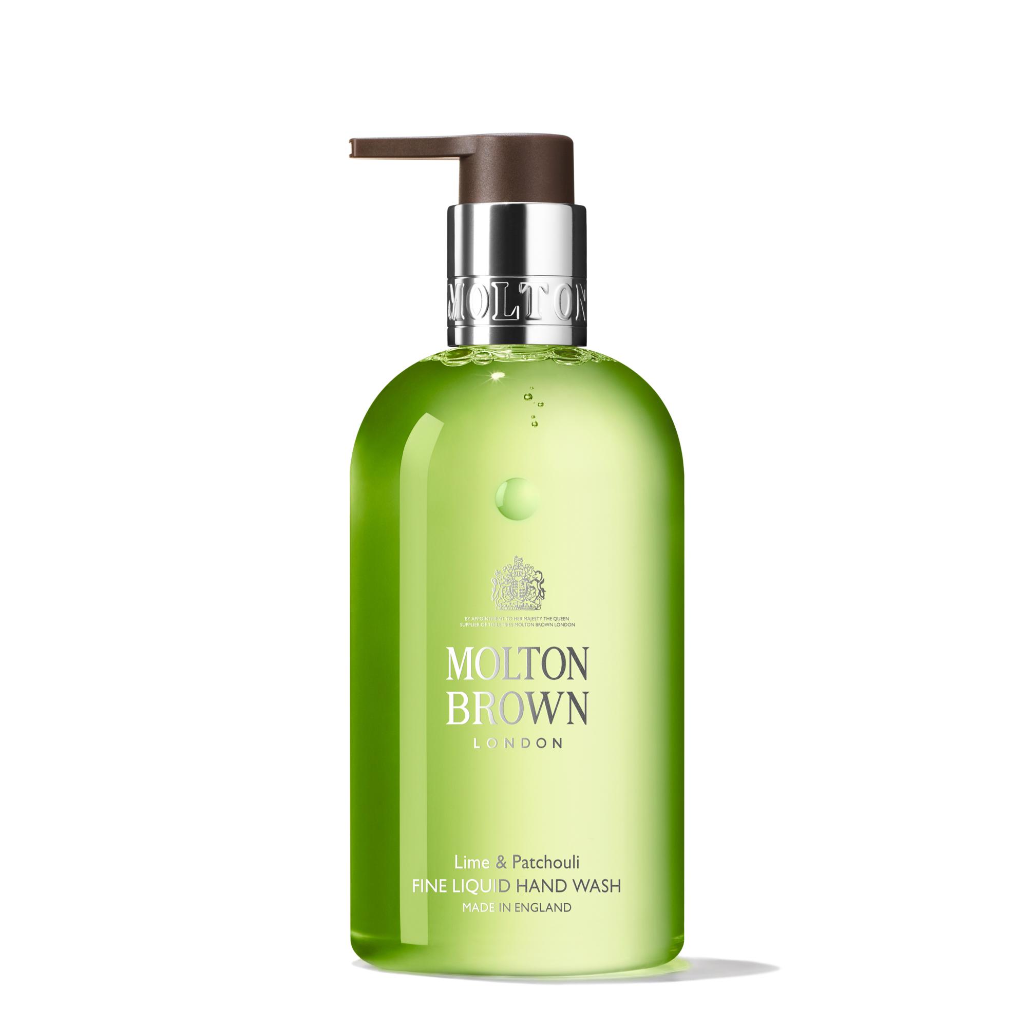 An image of Molton Brown Lime & Patchouli Fine Liquid Hand Wash 300ml - LIME&PATCHOULI