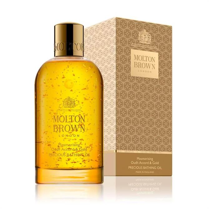 Molton Brown Mesmerising Oudh Accord & Gold Precious Bathing Oil 200ml