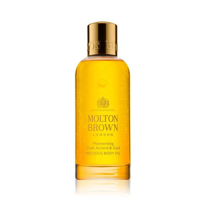 Molton Brown Mesmerising Oudh Accord & Gold Precious Body Oil 100ml