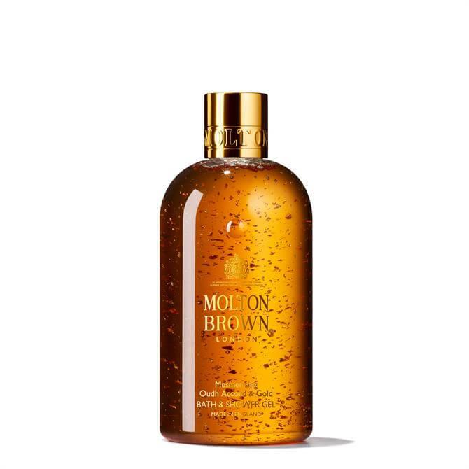 Molton Brown Mesmerising Oudh Accord & Gold Bath & Shower Gel 300ml