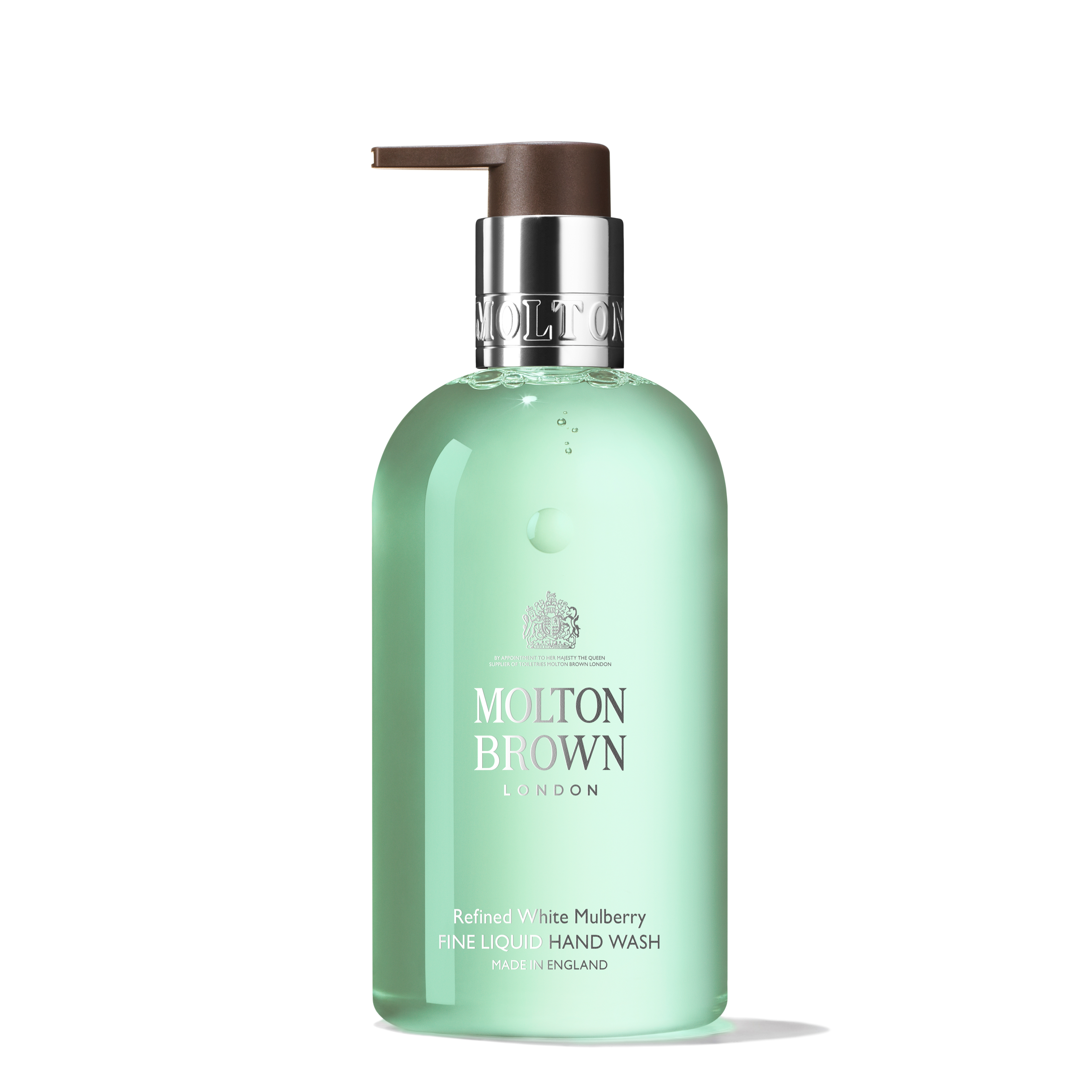 An image of Molton Brown Refined White Mulberry Fine Liquid Hand Wash 300ml - REFINED WHITE ...