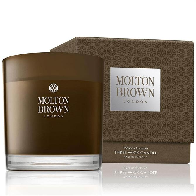 Molton Brown Tobacco Solute Three Wick Candle