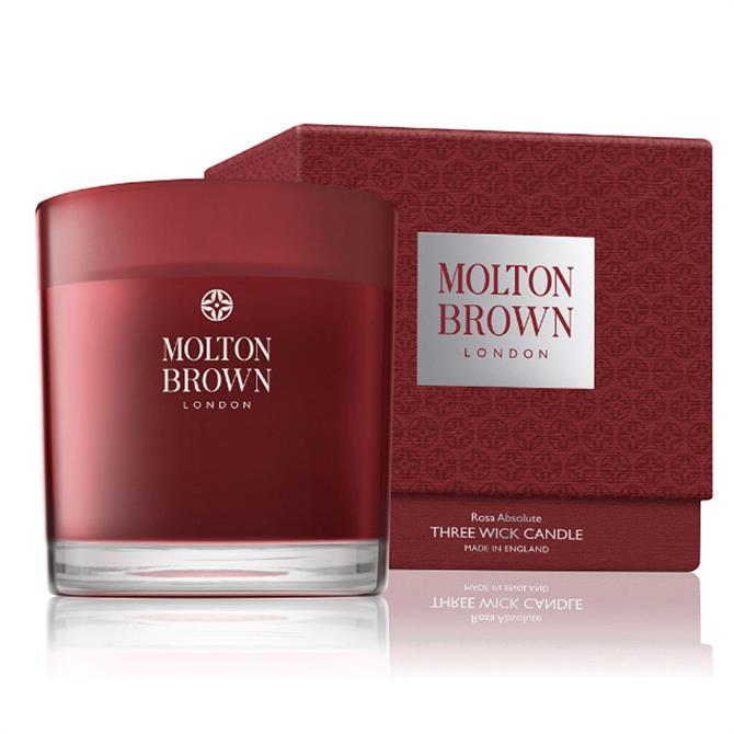 Molton Brown Rosa Absolute Three Wick Candle