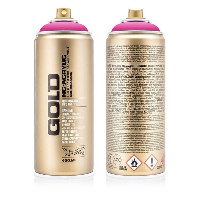 Montana GOLD 400ml Spray Paints