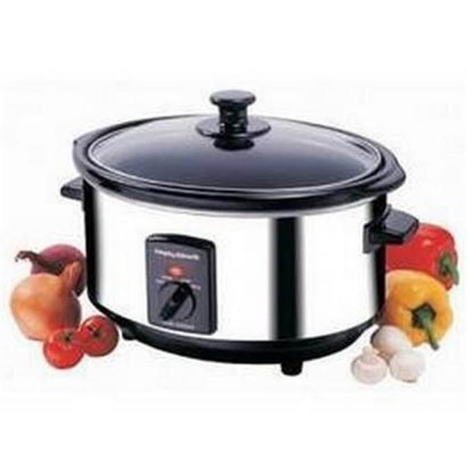 Morphy Richards Stainless Steel Slow Cooker 3.5L