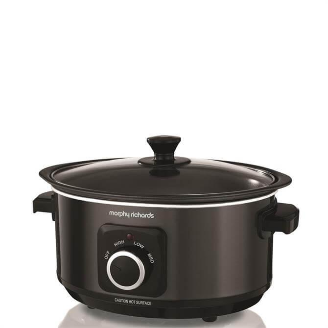 Morphy Richards Black Sear & Stew Slow Cooker 3.5L