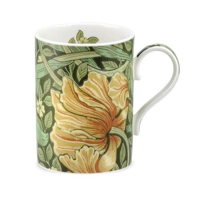 Morris & Co Pimpernel Bay Leaf and Manilla Mug