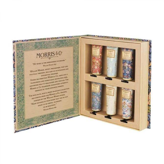 Morris & Co Hand Cream Library 6 x 30ml