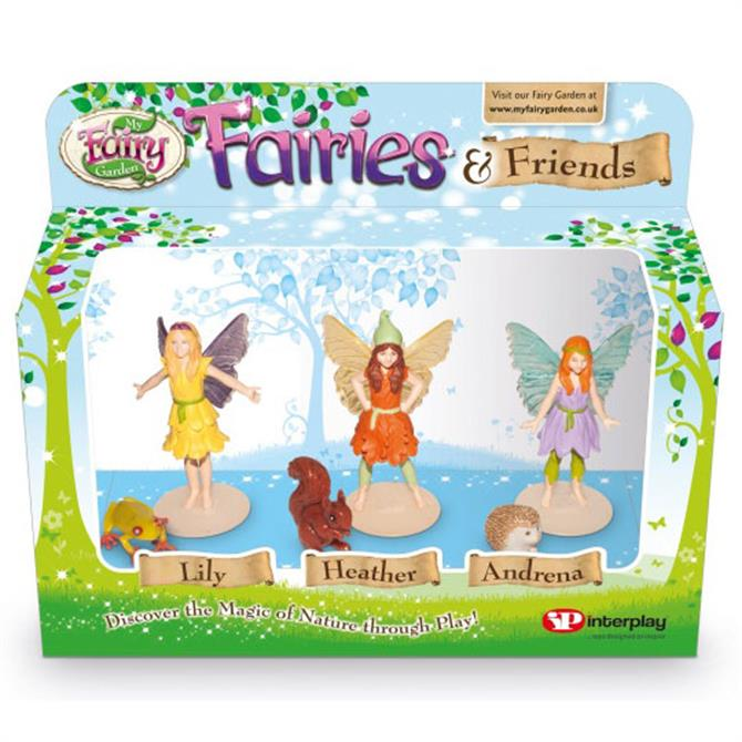 My Fairy Garden Fairies and Friends Pack