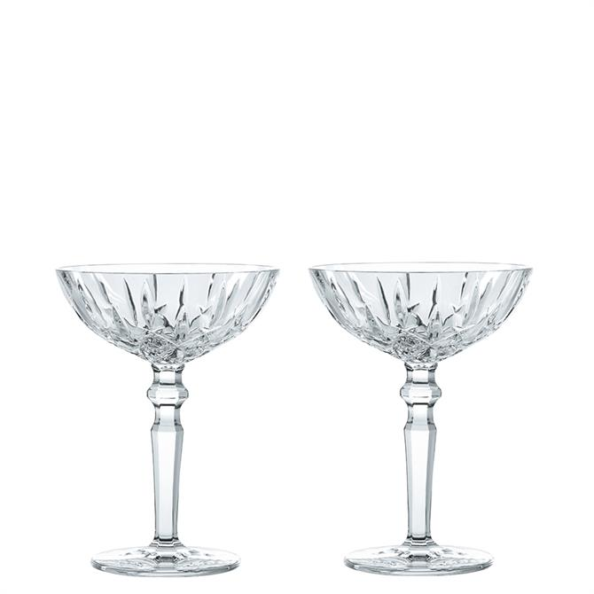 Nachtmann Set of Two Noblesse Cocktail Glasses