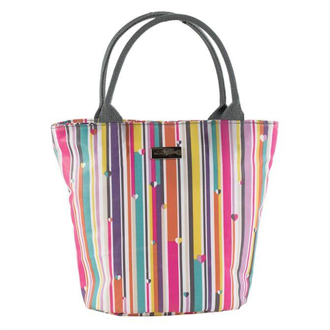 Beau & Elliot Insulated Lunch Tote Bag: Linear