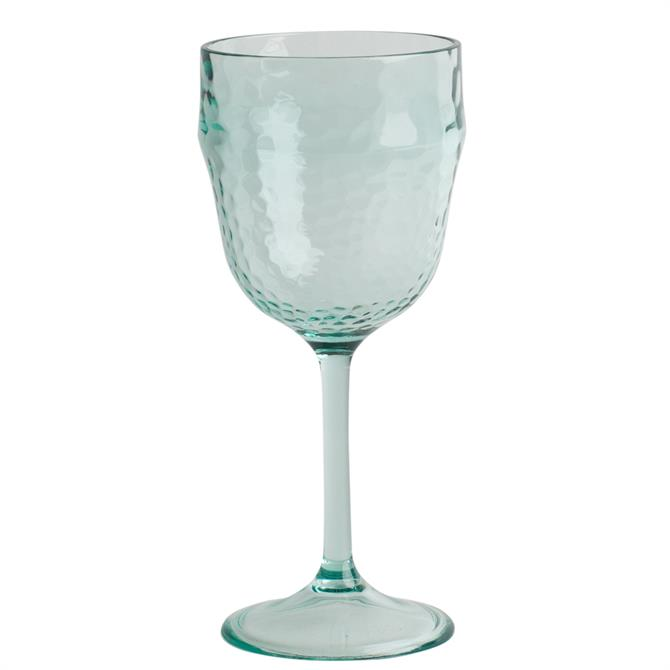 Navigate Recyled Glass Effect Wine Glass