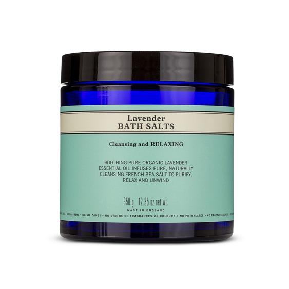 An image of Neal's Yard Remedies Lavender Bath Salts 350g - LAVENDER