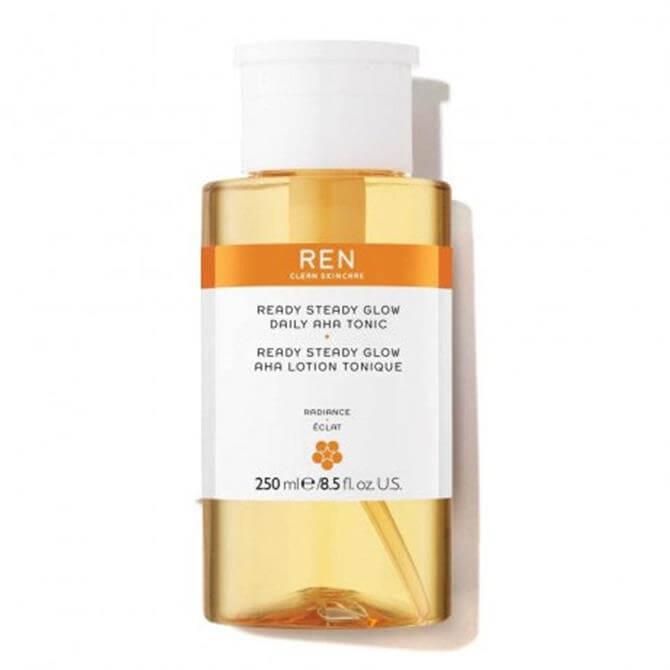 REN Ready Steady Glow Daily AHA Tonic 250ml