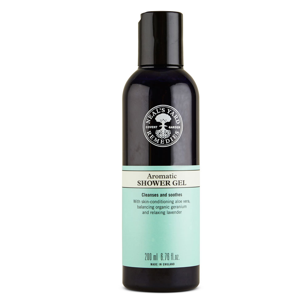 An image of Neal's Yard Aromatic Shower Gel 200ml