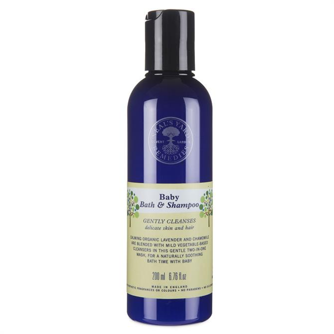 Neal's Yard Remedies Baby Bath and Shampoo 200ml