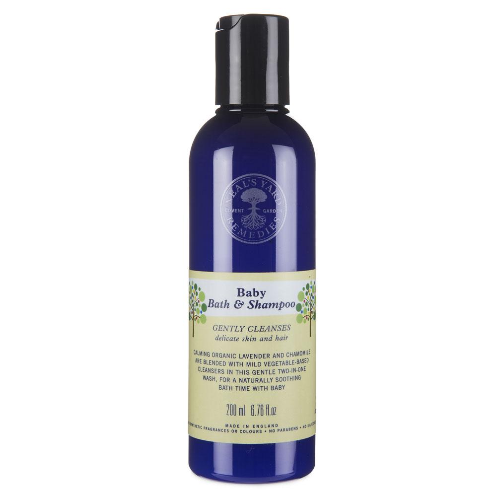An image of Neal's Yard Remedies Baby Bath and Shampoo 200ml