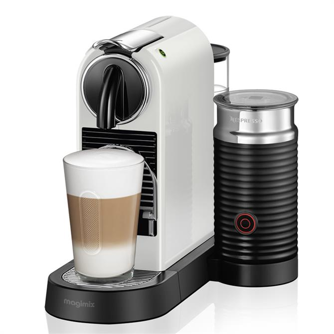 Magimix Nespresso Citiz & Milk Coffee Machine: White