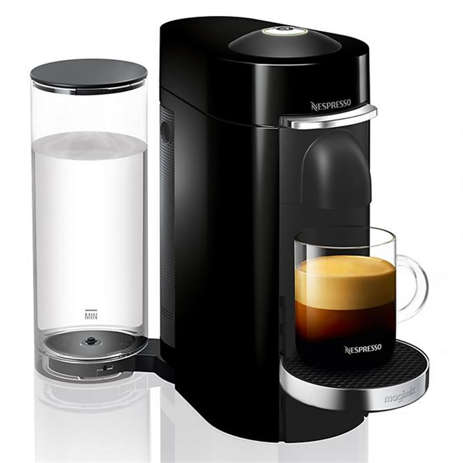 Magimix Nespresso  Vertuo Plus Coffee Machine: Piano Black