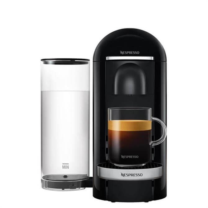 Krups Nespresso VertuoPlus Black Pod Coffee Machine
