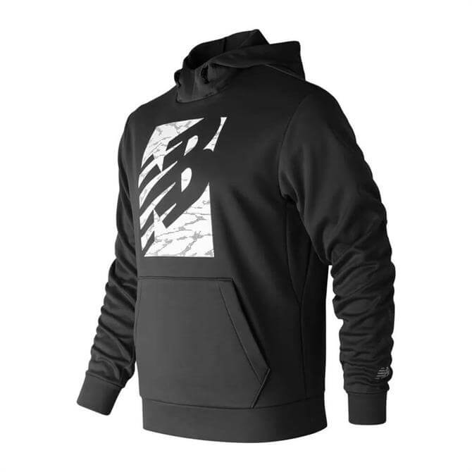 New Balance Men's Block Corefleece Hoodie - Black