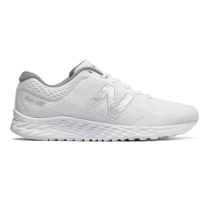 New Balance Men's Fresh Foam Arishi Running Shoe- White