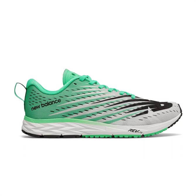 New Balance Women's 1500v5 Running Shoes - White/Neon Emerald